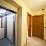 ascensore ai piani del residence trerose di savignano sul rubicone