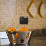 particolare di una cucina del residence trerose di savignano sul rubicone 2