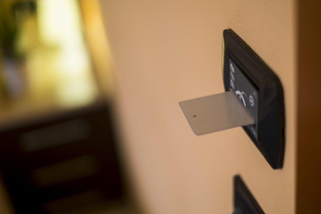 card ingresso per le camere del residence trerose di savignano sul rubicone